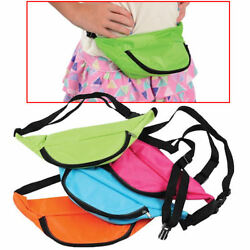 Neon Fanny Packs Beach Carrying Case Assorted Colors (Pack of 12X) $32.95