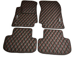 Leather Car Floor Mats Bespoke Fully Tailored Fit Chevrolet Camaro 2010-2015