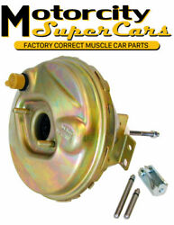 1964-66 A-body Power Disc Drum Brake Vacuum Booster Delco 9 Correct W/stamp