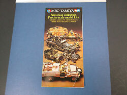 Vintage Mrc-tamiya Showcase Collection Precision Scale Models Brochure G-cond