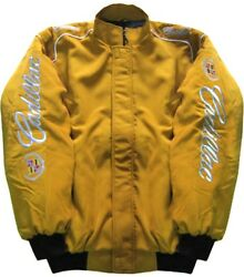 Cadillac - Jacket-blouson-jaquette. Gold Racing Team All Logo In Brodery