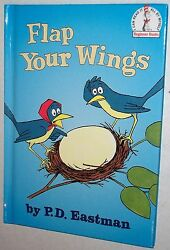 Beginner Books - Flap Your Wings by PD Eastman (2000 Hardcover)