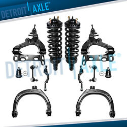 New 12pc Complete Front Suspension Kit for Chevy Trailblazer and GMC Envoy