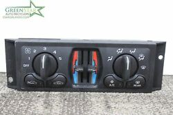 Heater Ac Control CHEVY IMPALA LS 01 CLIMATE CONTROL AS SEEN OEM