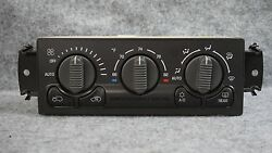 1999-2002 Chevrolet SilveradoTahoe AC climate control switch