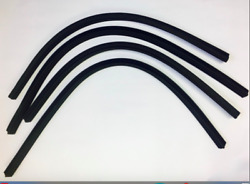 New 1957 1958 1959 Dodge And Plymouth 2-door Hardtop Roofrail Seal Weatherstrip