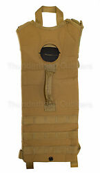 Us Military Molle 3l/100oz Hydration Carrier Rifleman Set, Coyote / Multicam Exc