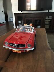 Forchino Art Big Red Mustang Old School 1965