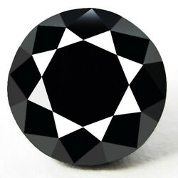 0.45 Cts. Certified Round Black Aaa Quality Loose Natural Diamond Wholesale Lot