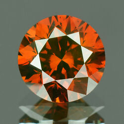 2.3 Mm Buy Certified Round Fancy Red Color Loose Natural Diamond Wholesale Lot