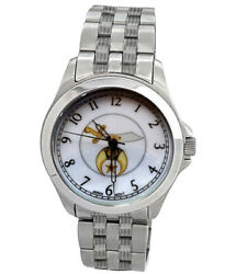 Shriner Watch - Freemasons Symbol Silver Steel Band -and Face