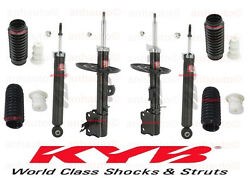 Kyb Excel-g Front And Rear Shocks+struts+boots Fits Murano 2009 To 2013
