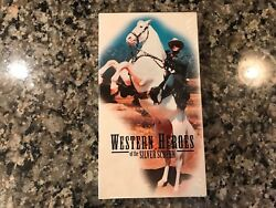 Western Heroes Of The Silver Screen New Sealed Vhs Stagecoach Roy Rogers