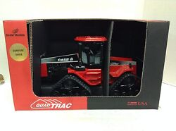 New Case Ih Quad Trac Open Hood Signature Series Autographed Toy Tractor 116
