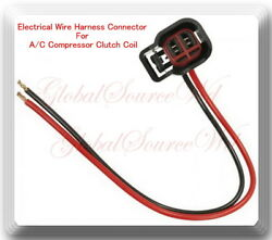 Electrical Connector (Pigtail Wire Harness) For YB591 AC Compressor Clutch Coil