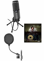 Audio Technica AT2020USBi Cardioid Condenser USB Microphone Bundle