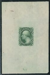184-e5b Die Essay On Proof Paper Three Cents Bank Note Essay Bt9675