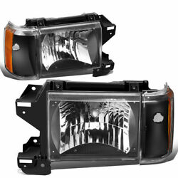 Fleetwood Pace Arrow Vision 1998 1999 Turn Signal Lights Front Lamps Pair Rv