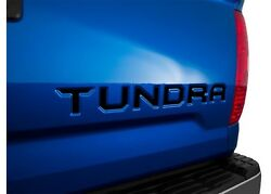 Gloss Black Tailgate Letter Inserts For 2014-2019 Toyota Tundra Made In The Usa