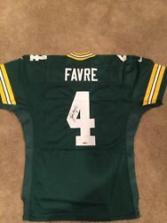 Brett Favre Game Issue Green Bay Packers Nike Jersey Autographed Authentic