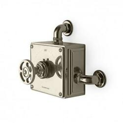 Waterworks RW Atlas Exposed Thermostatic Valve in Nickel