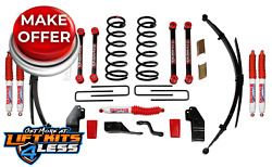 Skyjacker D5012ks-n 5 Lift Kit W/nitro Shocks For 00-2001 Dodge Ram 1500/2500