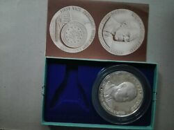Gerald Ford Commemorative Inauguration 4.77 Oz Silver Medal Coin