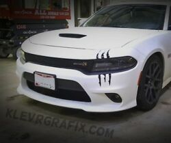 Claw Scratch Marks Monster Universal Vinyl Scar Decal Cars Trucks Dodge Charger