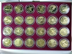 1991 Marshall Islands 24pc Aircraft Wwii Coin Set