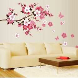 DIY Removable Flowers Wall Stickers Decal Art Vinyl Flower Mural Home Room Decor