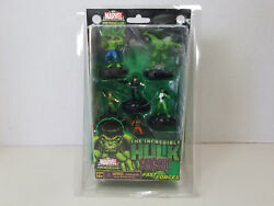 Heroclix Marvel The Incredible Hulk Fast Forces 6 Figure Set - New