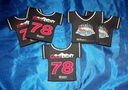 Coors Light Football Jersey Beer Soda Bottle Cozy Cooler Lot Of 75 Never Used