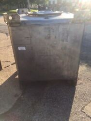 300 Gallon Stainless Steel Tote Made By Metal Craft