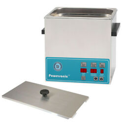 New Crest Powersonic P360d-45 1.0 Gal Heated Ultrasonic Cleaner, 0360pd045-1