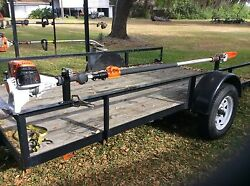 Stihl Polesaw Rack Holder Will Only Fit Stihl Pole Saws Not Weedeater