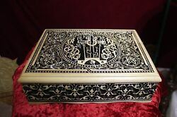 Russian Orthodox Wooden Reliquary Box. Religious Reliquary For Church.