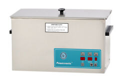 New Crest Powersonic P1200d-45 2.5 Gal Heated Ultrasonic Cleaner, 1200pd045-1