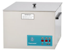 New Crest Powersonic P1800d-45 5.25 Gal Heated Ultrasonic Cleaner, 1800pd045-1