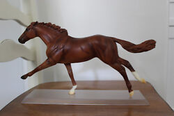 Breyer Thoroughbred Racehorse Rags to Riches Chestnut Ruffian Roses #1329 Filly