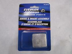 Oem Evinrude/johnson/omcandreg Outboard Zinc Anode And Insert Assy 436745