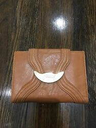 New With Tags And Plastic On Metal Fendi P. Foflio Spy Lamb And Calf Wallet