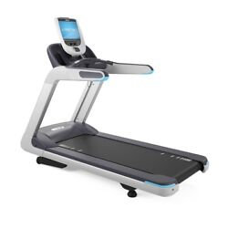 PRECOR TRM 885 TREADMILL - P80 DISPLAY - VERSION 2 - BLUE ACCENTS