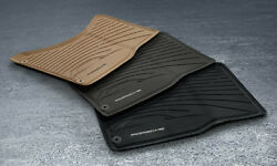 Porsche CAYENNE 2011+ BLACK All-Season Mats. For vehicles WITH 4-Zone Climate.