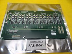 Nikon 4s008-089 Relay Control Board Pcb Af-adcx4a Nsr-s205c Working Surplus