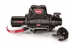 96805 Warn Industries Vr8-s 12 Volt Winch 8000 Lbs. Pull W/ 90and039 Synthetic Rope