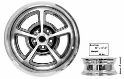 1965-73 Mustang Magnum Alloy Wheel 17 X 7 Coated