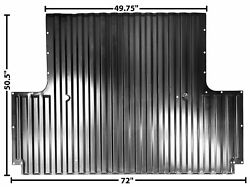 1967-72 Chevy Pu Floor Front Sec. Of 8and039 Bed 67-72