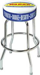 1948-53 Mopar Parts And Accessories Logo Counter Stool