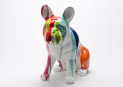 French Bulldog dog statue in resin ideal for outdoor decoration. Height 137