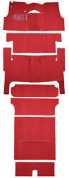 1955 Chevrolet Bel Air Nomad 2dr Wagon Bench Seat Complete 02 Red Loop